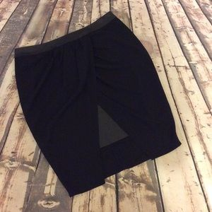 Mossimo black skirt size 10